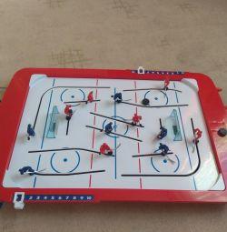 Board games hockey and air hockey