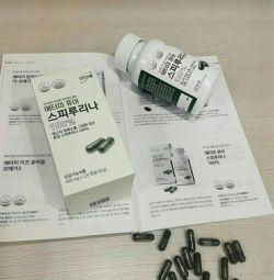 Spirulina. Korea. Atomy.