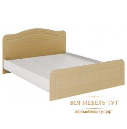 Elsa Bed 1.4 MDF (white / mother of pearl) KR-910