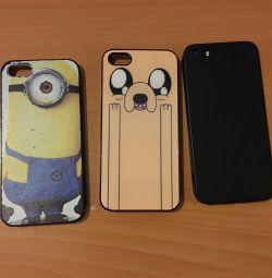 Θήκη για iPhone 5s. Τρία για 100₽