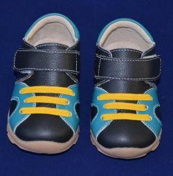 Çocuk ayakkabısı 16 cm deri 16 astarı