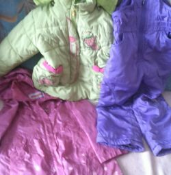 Clothes for children from 3-5 years