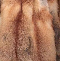 Вироблені шкури лисиці