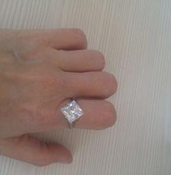 Перстень серебро
