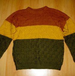 Pulover nou tricotat manual