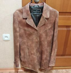 Leather jacket r. 50-52