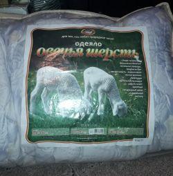 Blanket from wool