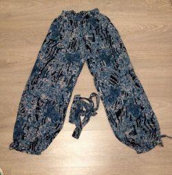 Pantolon, yazlık pantolon