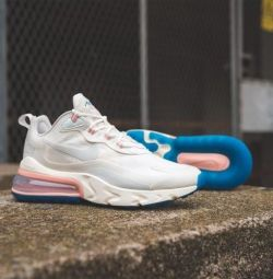 Nike Air Max 270 React Ghost Aqua Sneakers