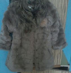 Dets γούνα παλτό 4-7 χρόνια