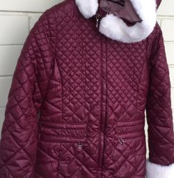Down jacket for girls 134-68-60 Orby