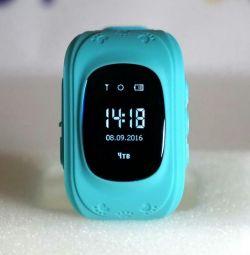 Children's watch q50. Oled display