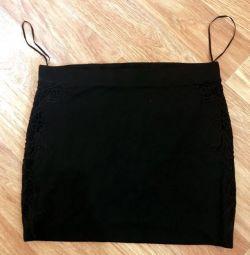 Μαύρη κομψή φούστα 🔥