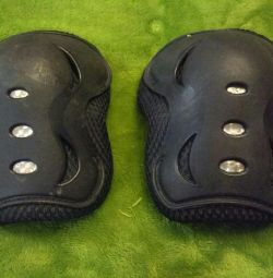 Children's knee protection for rollers