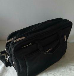 Bag briefcase for laptop (large)