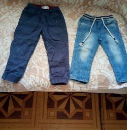 Τζιν και παντελόνι σε ένα αγόρι