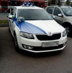 Araba kiralama için düğün dekorasyon