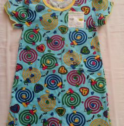 Νύχτα shirt NEW στις παρθένες 3-4 l. 92-104cm