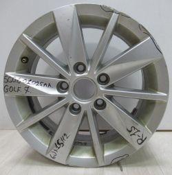 Cast disk 6JR15H2 Volkswagen Golf 7 oem 5G0601025AA (defect) (skl-3)