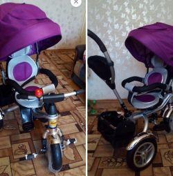 Ποδήλατο NEO3 με περιστρεφόμενο κάθισμα