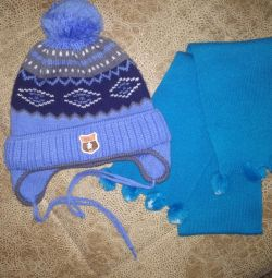 A new hat and scarf