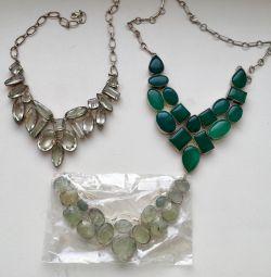 Κοσμήματα από φυσικά πετράδια σε ασήμι