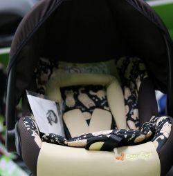 Araba koltuğu Food-Food KS-321, 0-13 kg arası astarlı