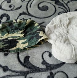 Καλοκαιρινά καπέλα για ένα αγόρι 2-3 ετών