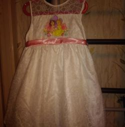 NEW! Dress for princess 7-8 years