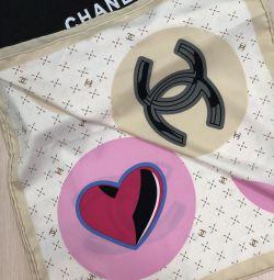 Κασκόλ Chanel μετάξι 100% νέο