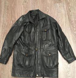 Leather jacket 52-54