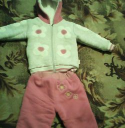 Warm suit for 18 months