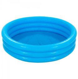 Children's pool Crystal, blue, 147x33 cm, 58426