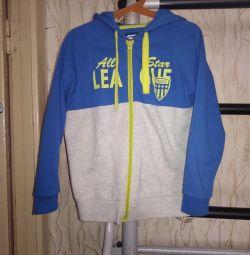 Gloria Jean'in spor ceketi, 8-9 yaşında