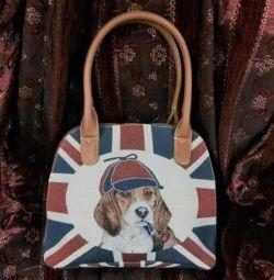 Γυναικεία τσάντα από την ταπετσαρία