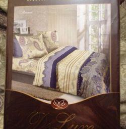 Bed linen Satin Euro