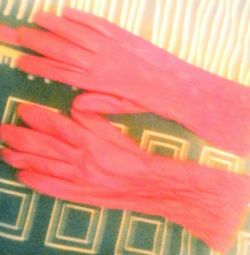Перчатки новые кожа