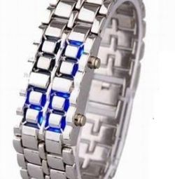 Wrist watch W049, steel