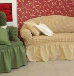 ?Universal sofa covers + 2 chairs