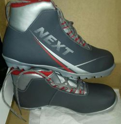 Ski boots for sports and cross-country