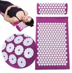 масажний килимок і подушка нове