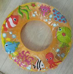 Çocuk yüzme çemberi çapı 52 cm