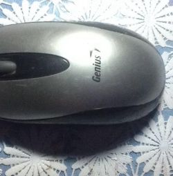Mouse computer wire Genius
