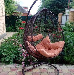 Kase asılı sandalye