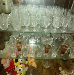 Τα ποτήρια κρασιού είναι διαφορετικά, κρυστάλλινα