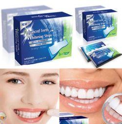 Λευκές λουρίδες για δόντια