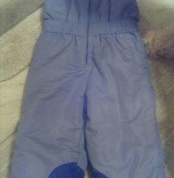 Штани з плащової тканини на 2 рочки (продаж або обмін)