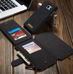 Πορτοφόλι-πορτοφόλι για Samsung Galaxy Σημείωση 5 με NEW !!!