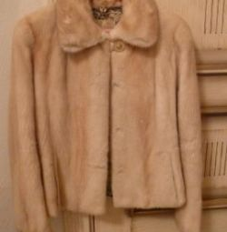 Mink female coat