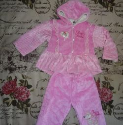 Solid Velor Suit, 86p